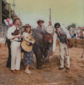 Jim Collier, Margaret Martin, Bill Mansfield, Wayne Martin, with their biggest fan. Washington, D.C.